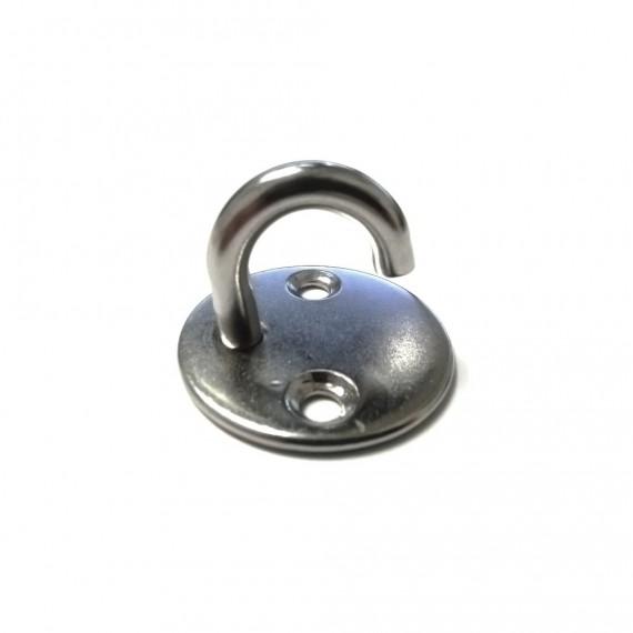 Stainless steel hook eye plate