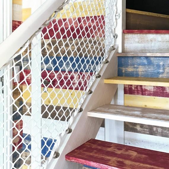 Rambarde pour escalier extérieur