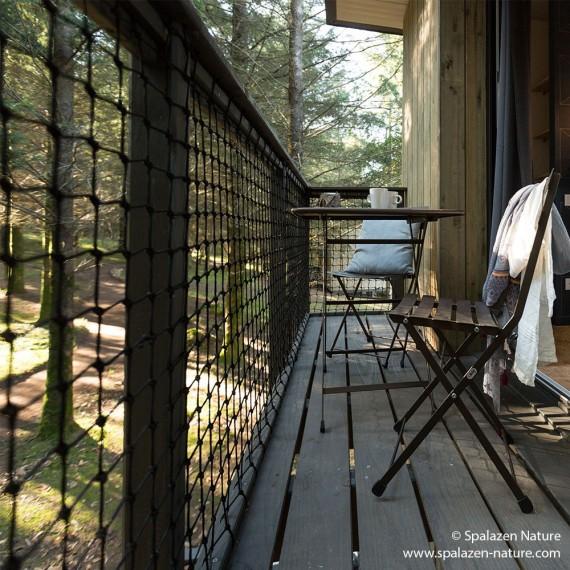 Brüstung - Treppengeländernetz für Innen- und Außenbereiche