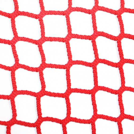 Braided 50 mm white or red netting