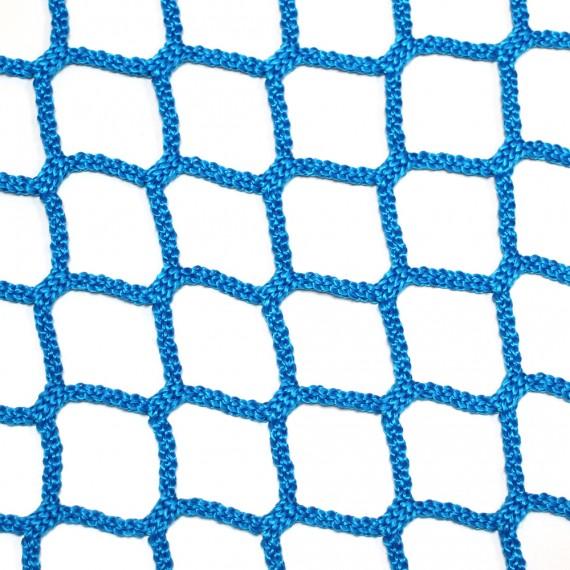 Filet d'habitation mailles tressées 50 mm bleu