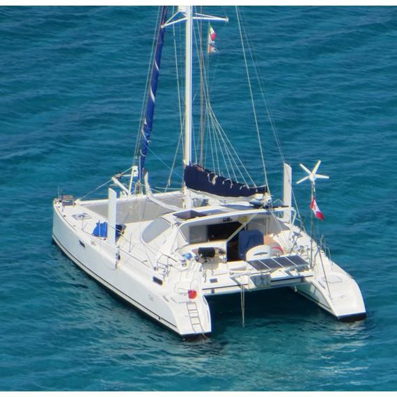 Trampoline for Catana 381 catamaran