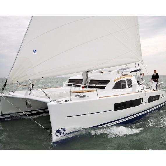 Trampoline for Catana 41 catamaran