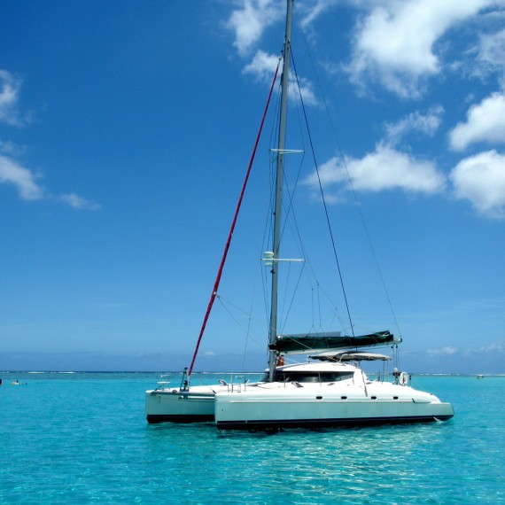 Trampoline for Bahia 46 catamaran