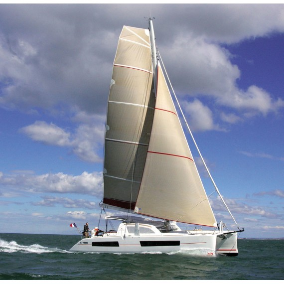 Trampoline for Catana 47 catamaran