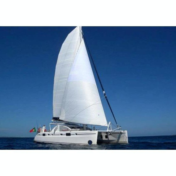 Trampoline net for CATANA 581 catamaran