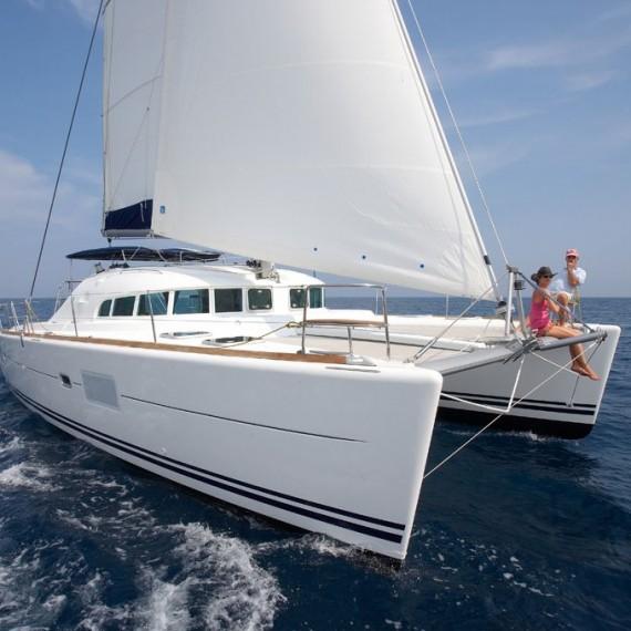 Trampoline for Lagoon 410 / 410 S2 catamaran