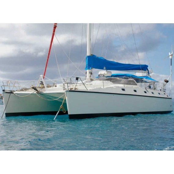 Trampoline for Privilège 12M catamaran