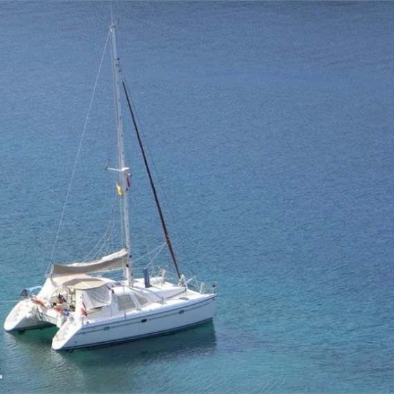 Trampoline for Privilège 37 catamaran