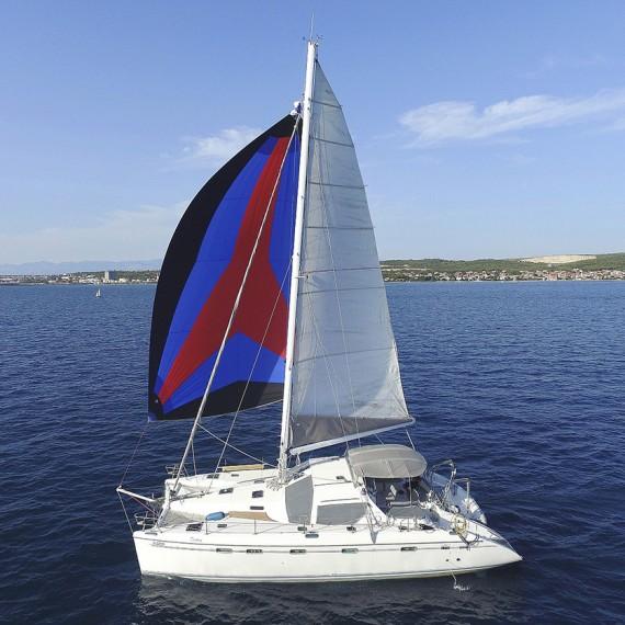 Trampoline for Privilège 465 catamaran