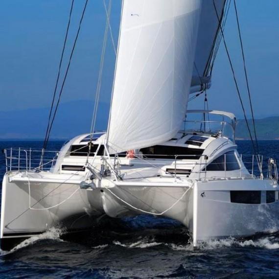 Trampoline for Privilège 515 catamaran