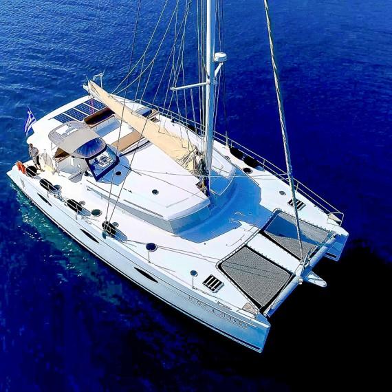 Trampoline for Sanya 57 catamaran