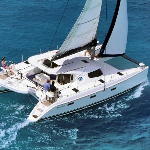 Trampoline for Nautitech 40 catamaran