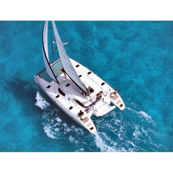 Trampoline net for NAUTITECH 44 Catamaran
