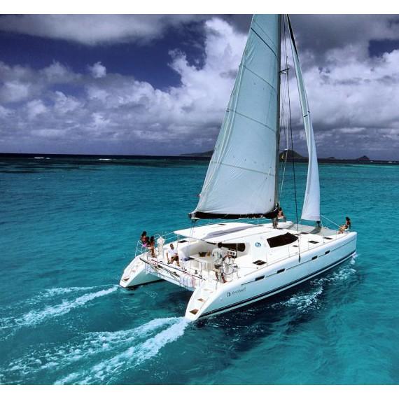 Trampoline for Nautitech 47 catamaran