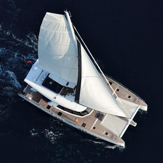 Trampoline for Sunreef 62 catamaran