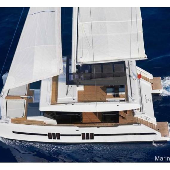 Trampoline for Sunreef 68 catamaran