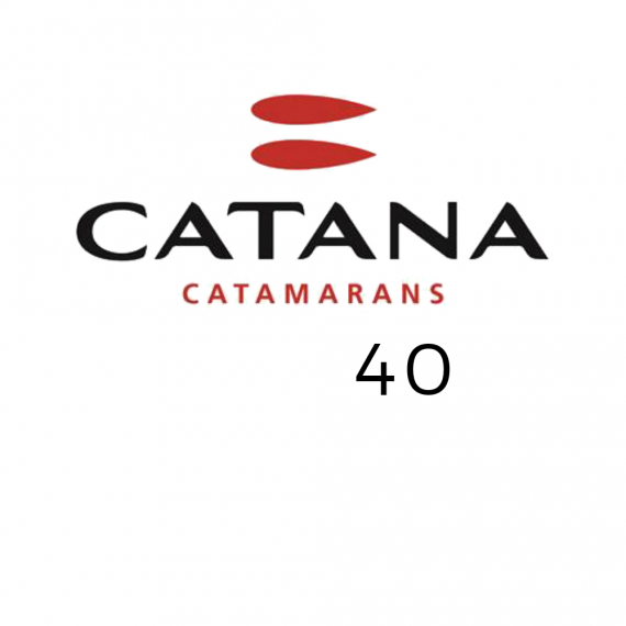 Trampoline for Catana 40 catamaran