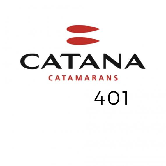 Trampolin für den Catana 401