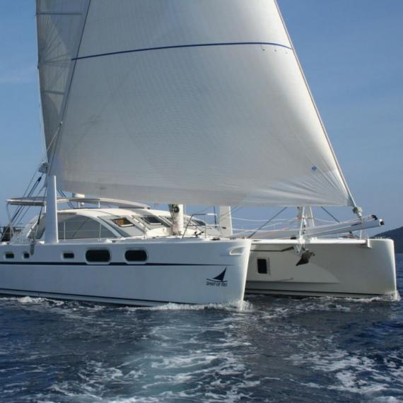 Trampoline for Catana 582 catamaran