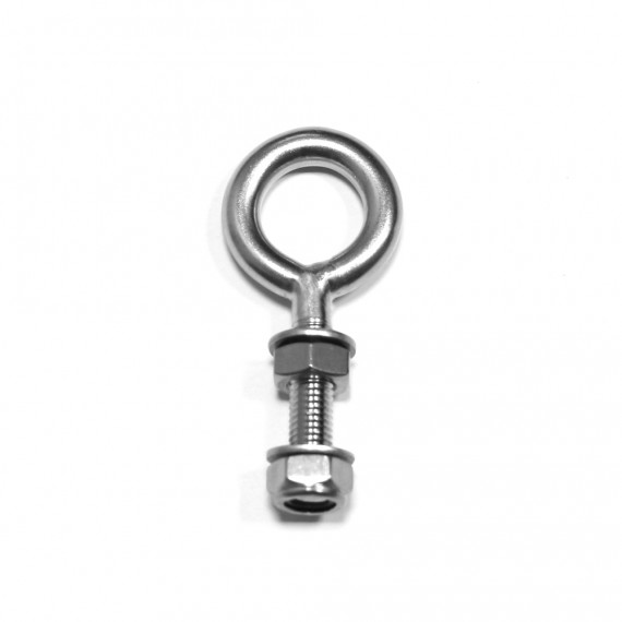 10 x 100 A4 stainless steel eye bolt