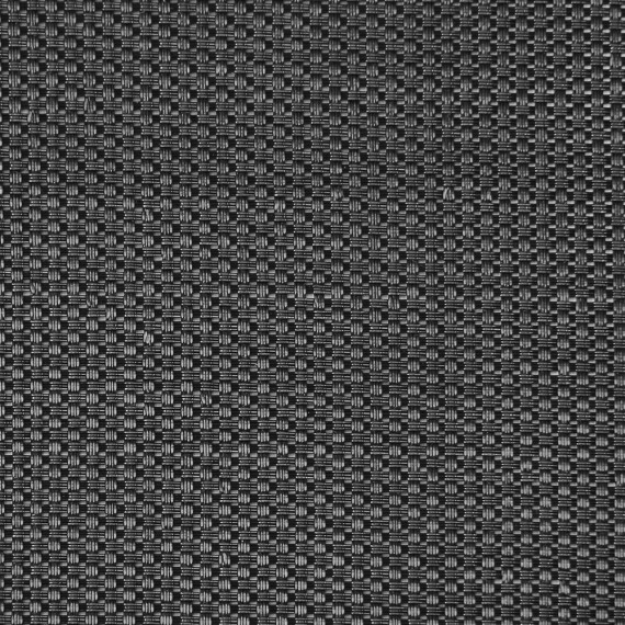 Black Permatron technical mesh canvas