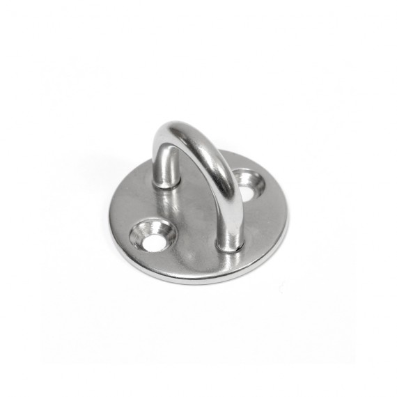 Stainless steel A4 eye plate (without screws)