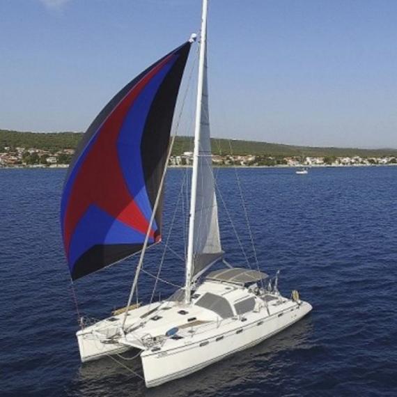 Trampoline for Privilège 395 catamaran