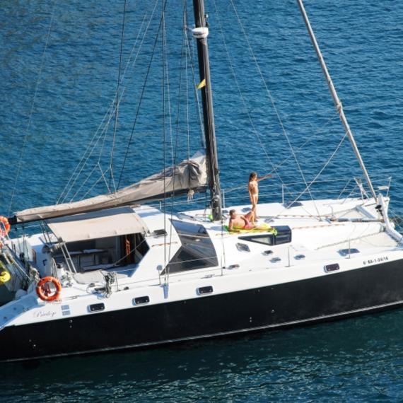 Trampoline for Privilège 51 catamaran