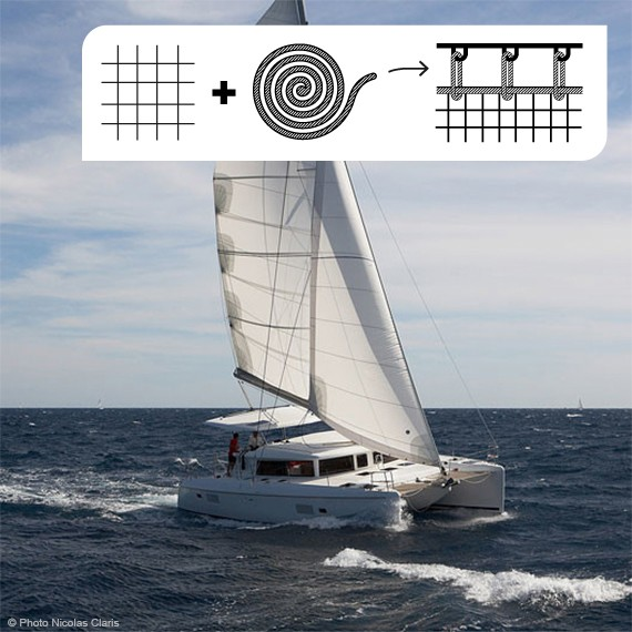 Trampolinnetz für Lagoon 420