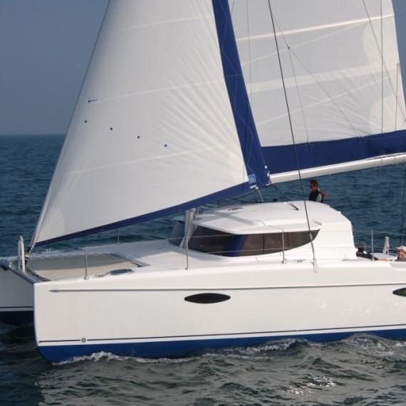 Trampoline for Mahe 36 catamaran