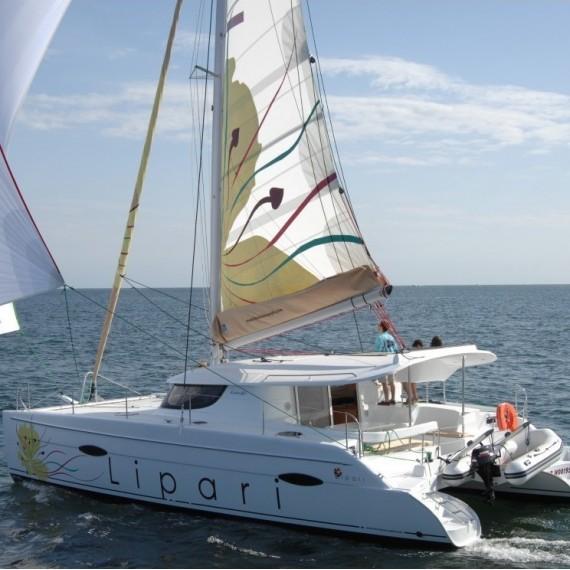 Trampoline for Lipari 41 catamaran