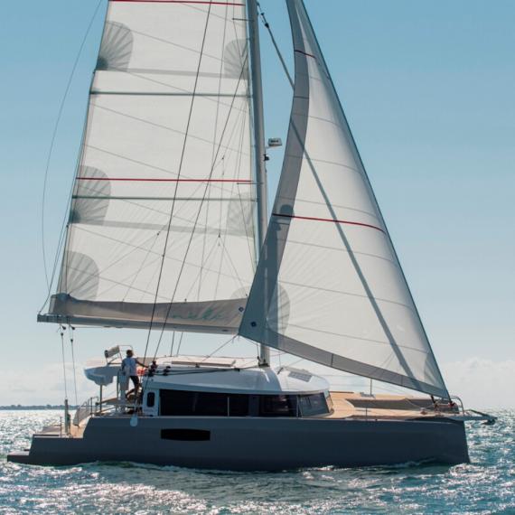 Trampoline for Neel 51 catamaran