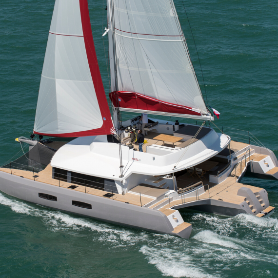 Trampoline for Neel 65 catamaran