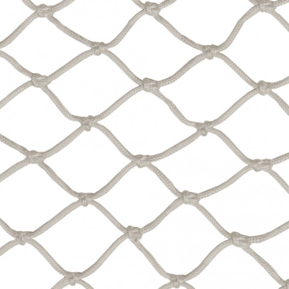 50-mm (2'') white knotted netting