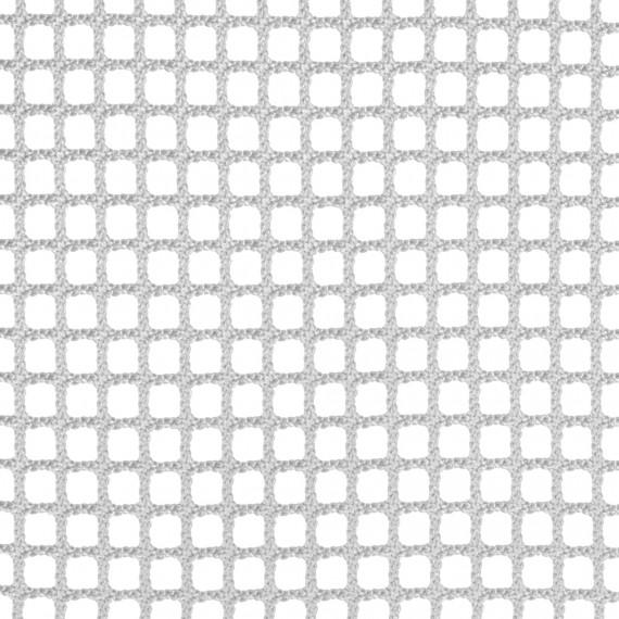 Filet d'habitation mailles tressées 15 mm blanc