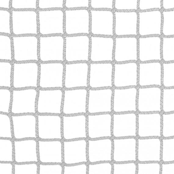 Wohnnetz aus geflochtenen Maschen 30 mm weiß