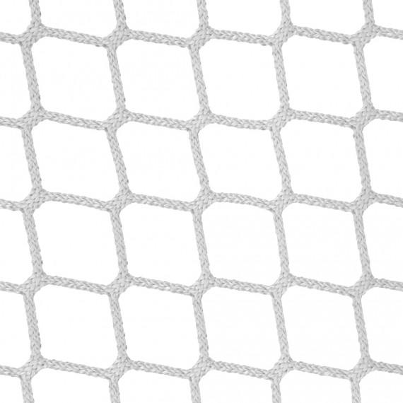 Wohnnetz aus geflochtenen Maschen 45 mm weiß
