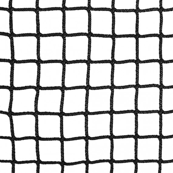 30-mm black braided netting