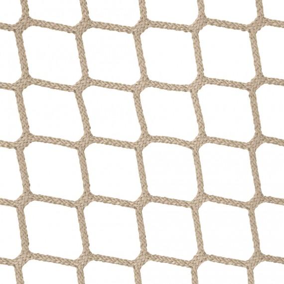 Wohnnetz aus geflochtenen Maschen 45 mm beige