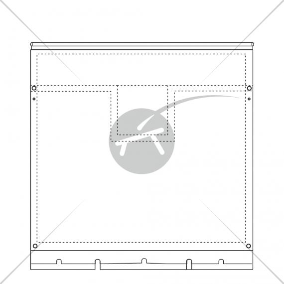 Filet de trampoline - New Cat 12