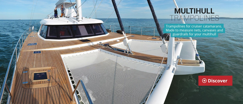 Cruising catamarans