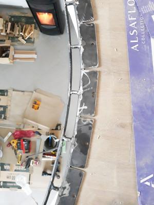 Maßgefertigte Stahlstruktur für Hängebahnen