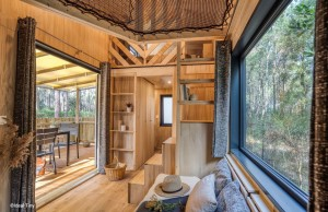 Tiny House Lacanau – Filet en Mezzanine