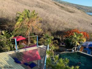Nature Bleue à la Réunion- Filet d'habitation extérieur
