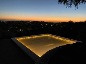 Filet horizontal pour terrasse