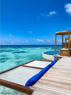W Maldives - Filets d'habitation sur-mesures pour bungalow
