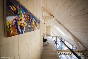 Gîte Sancy Nature - Les filets d'habitation une solution pour les espaces mansardés