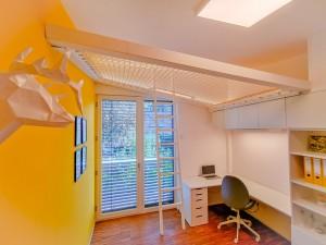 Un filet permet d'optimiser toute la surface habitable disponible d'un logement
