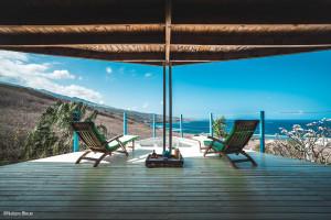 Nature Bleue à la Réunion - Filet de catamaran pour terrasse